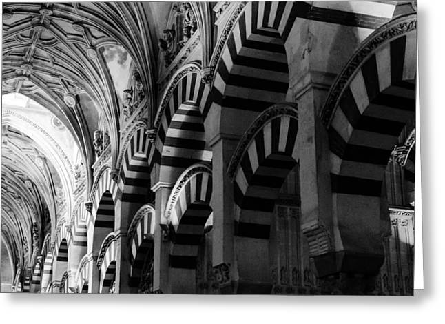 Mosque Cathedral Of Cordoba 6 Greeting Card by Andrea Mazzocchetti