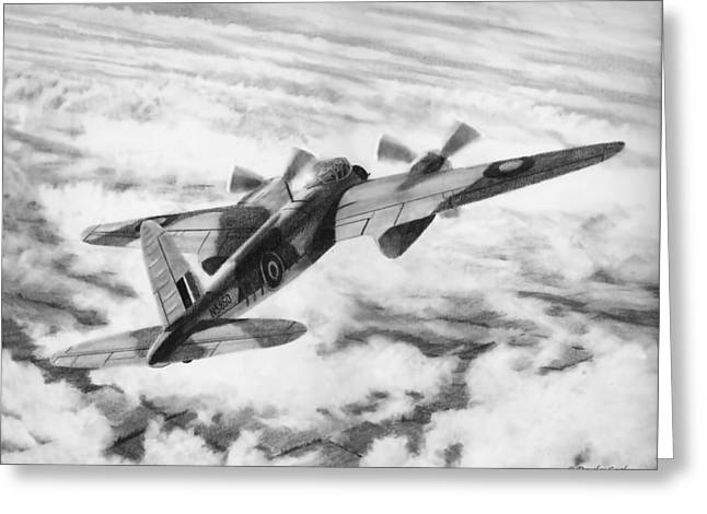 Mosquito Fighter Bomber Greeting Card