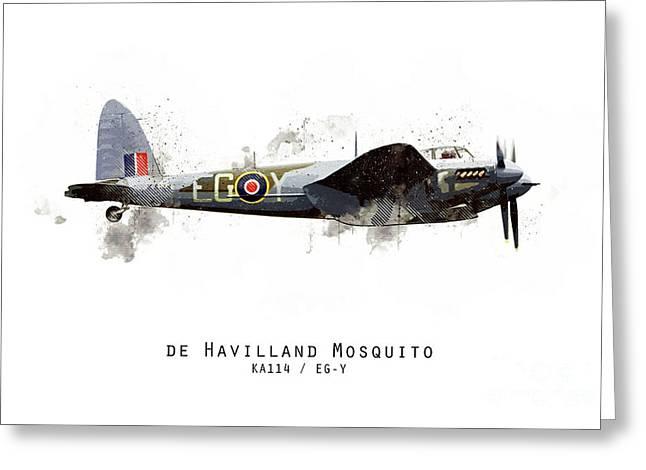 Mosquito Sketch - Ka114_egy Greeting Card