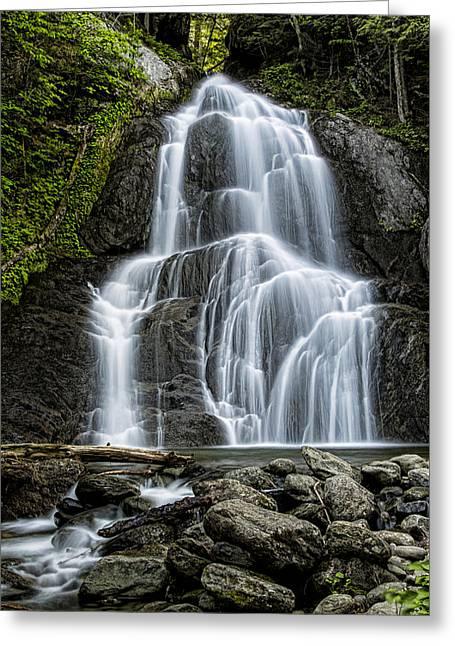 Moss Glen Falls - Vertical Greeting Card