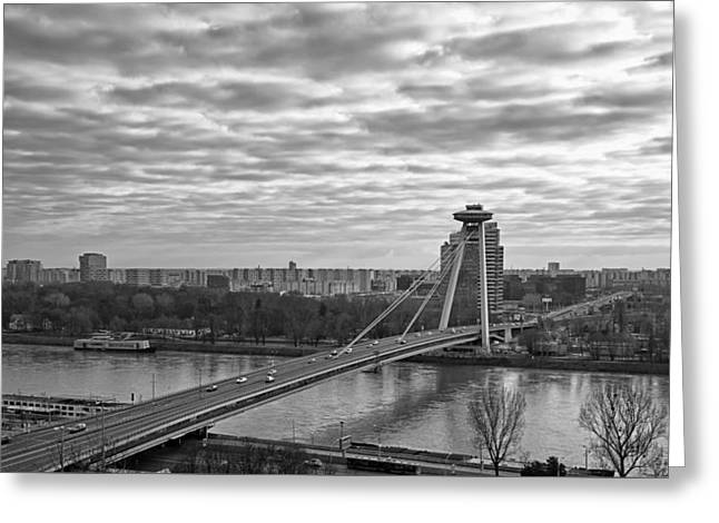 Most Snp Bridge Greeting Card by Joan Carroll