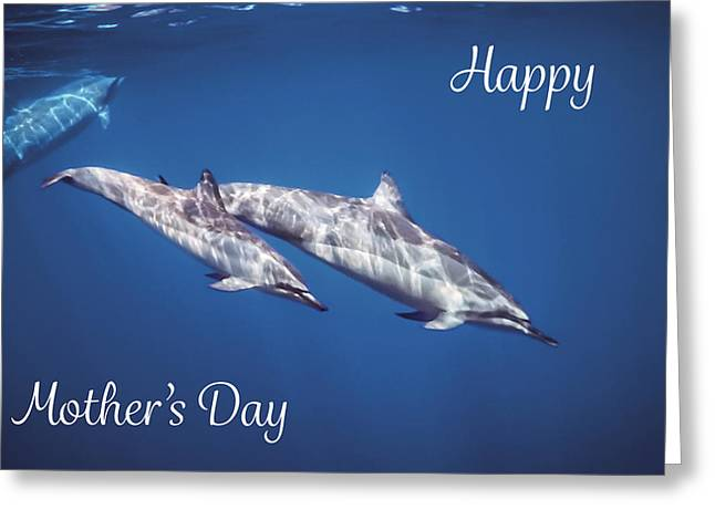 Mother And Child Mother's Card Greeting Card by Denise Bird
