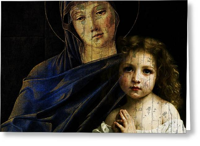 Mother And Child Reunion  Greeting Card by Paul Lovering