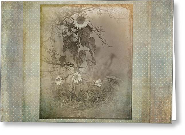 Mother And Child Reunion Vintage Frame Greeting Card