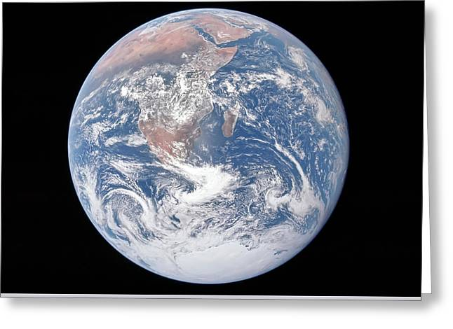 Mother Earth Greeting Card by Peter Chilelli