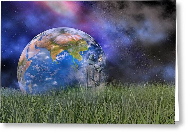 Mother Earth Series Plate4 Greeting Card