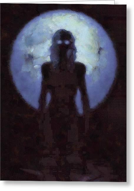 Mother Goddess Greeting Card