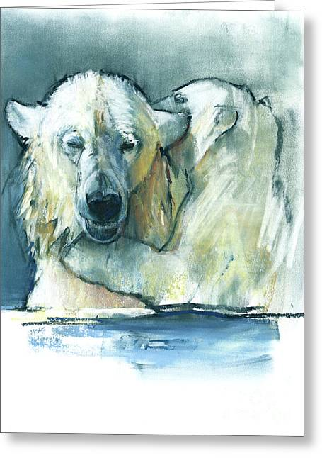 Mother Greeting Card by Mark Adlington