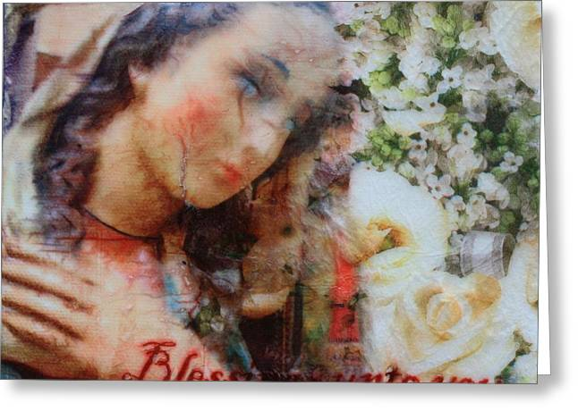 Mother Mary Blessing Greeting Card