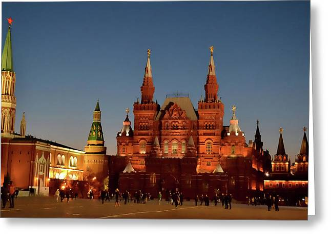 Mother Moscow Greeting Card by JAMART Photography