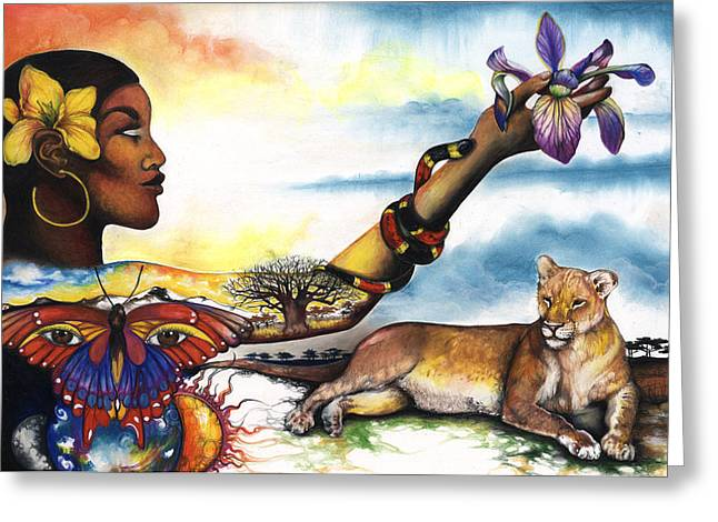 Mother Nature Iv Greeting Card