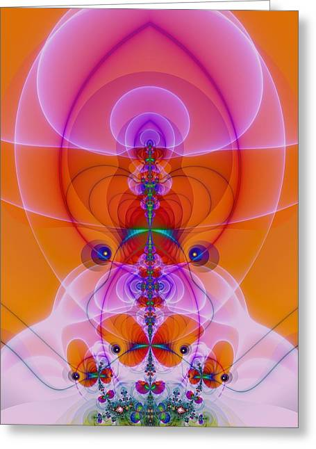Mother Nature Greeting Card by Sacred Visions