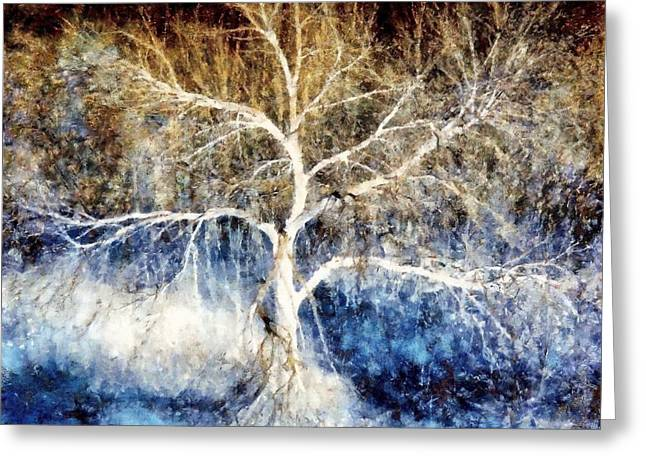 Mother Natures Dance Greeting Card by Janine Riley