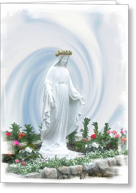 Mother Of Peace Greeting Card