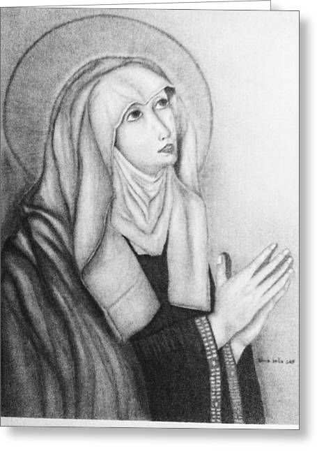 Mother Of Sorrows Version1 Greeting Card