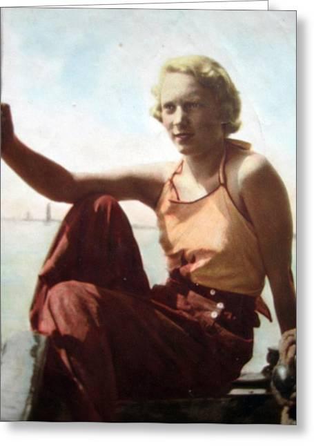 Mothers Day Anita 1934 Greeting Card
