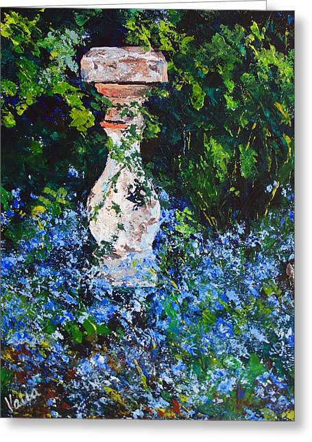 Mother's Garden Greeting Card by Valerie Curtiss