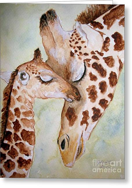 Mothers Love Greeting Card by Carol Grimes