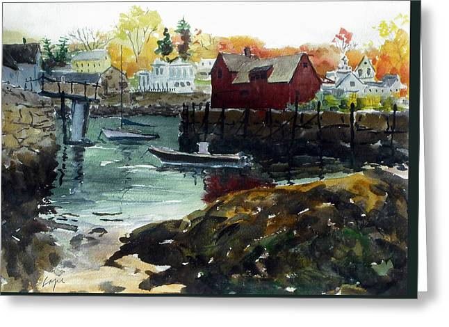 Motif 1 From The Other Side Greeting Card by Chris Coyne