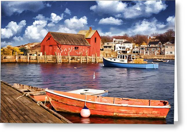 Motif Number One Greeting Card