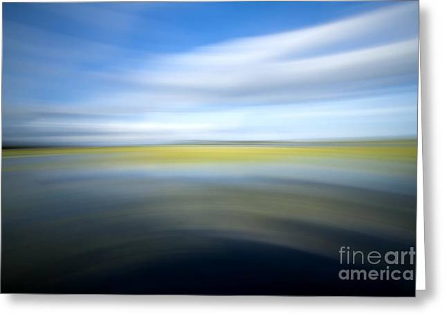 Motion Blur 2 Greeting Card by Dustin K Ryan