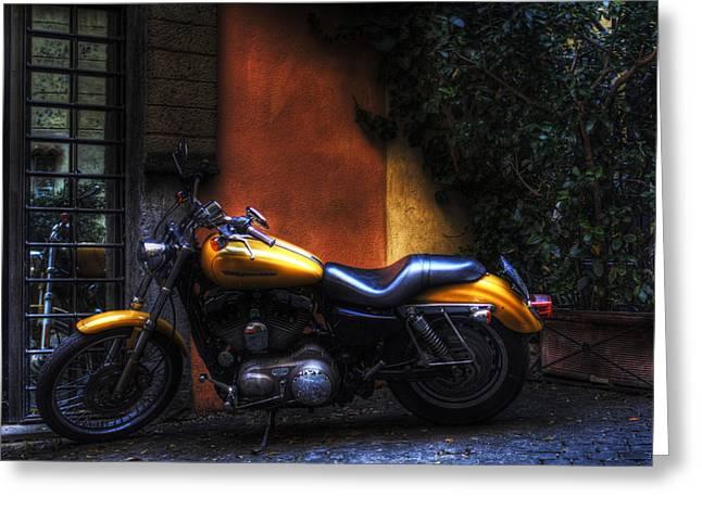Moto 1 Greeting Card by Brian Thomson