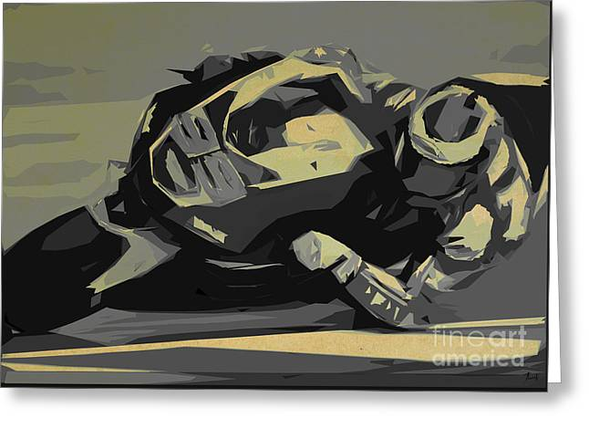 Moto Gp 99 Greeting Card by Pablo Franchi