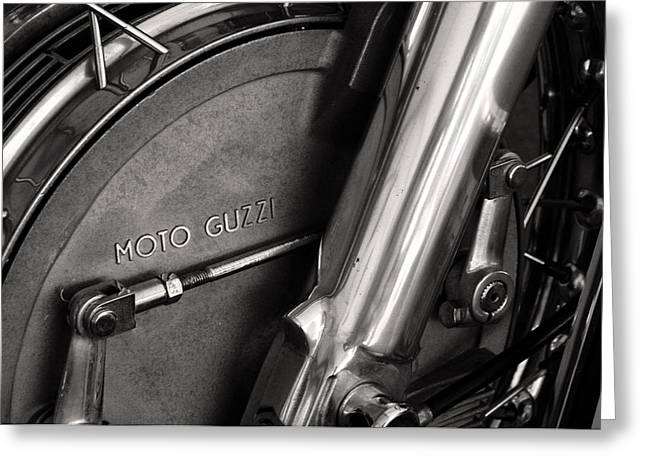 Moto Guzzi V7 Greeting Card by Marley Holman