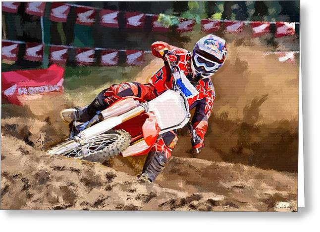 Moto-x Greeting Card