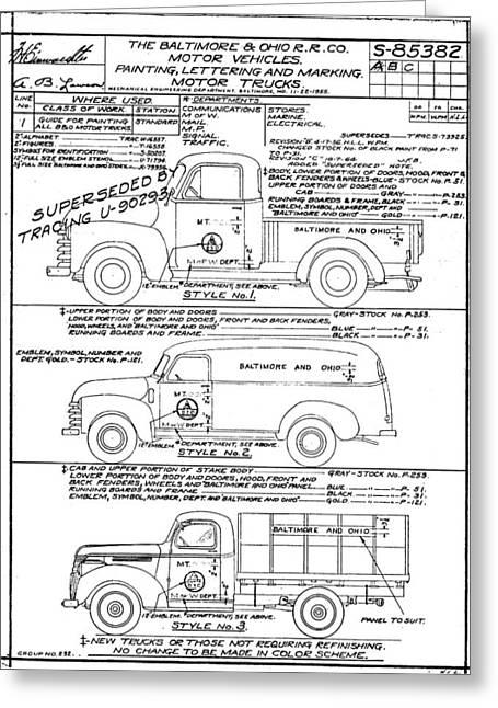 Motor Vehicles Greeting Card