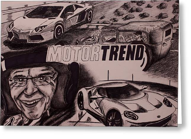 Motortrend Greeting Card