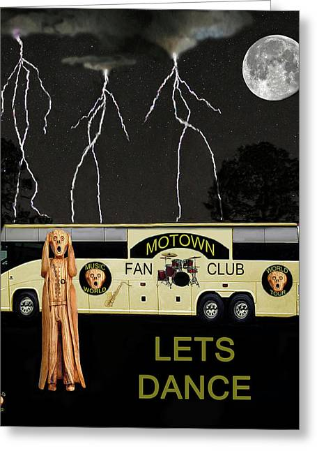 Motown Hits Greeting Card by Eric Kempson