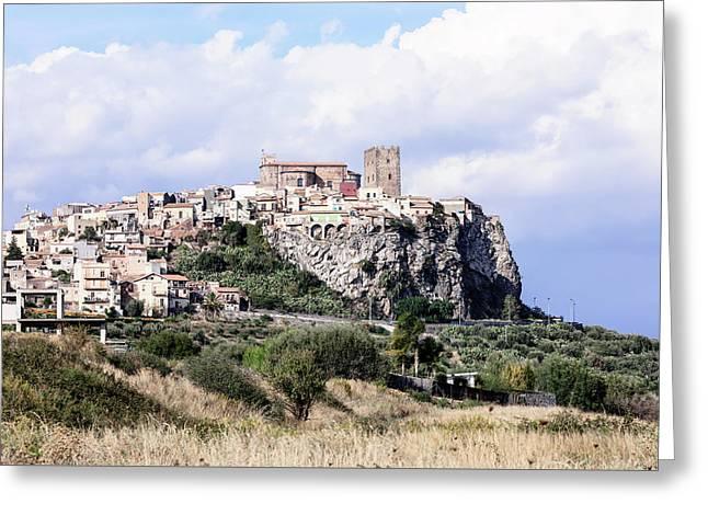 Motta Sant'anastasia - Sicily Greeting Card