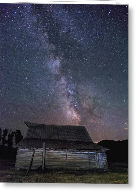 Moulton And The Milky Way Greeting Card