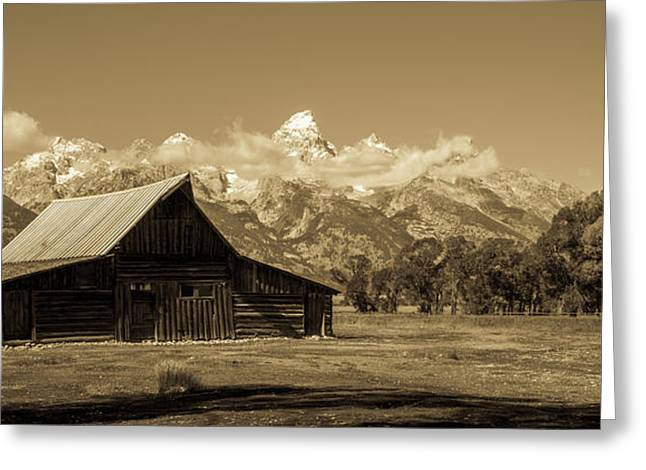 Moulton Barn Toned Greeting Card