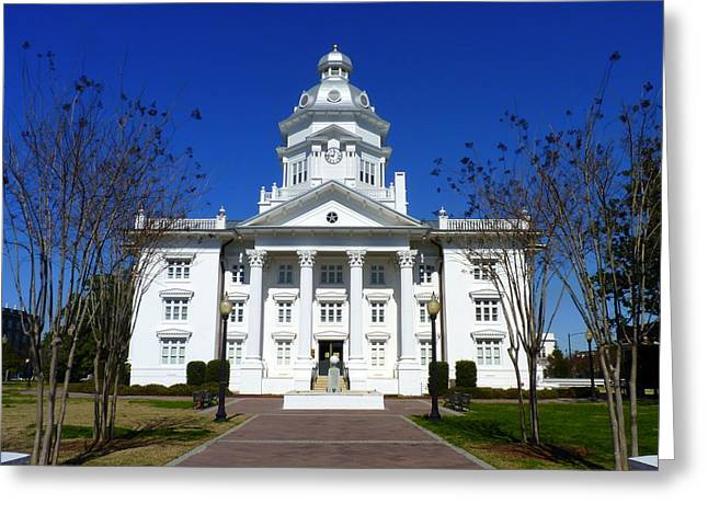 Moultrie Courthouse Greeting Card by Carla Parris