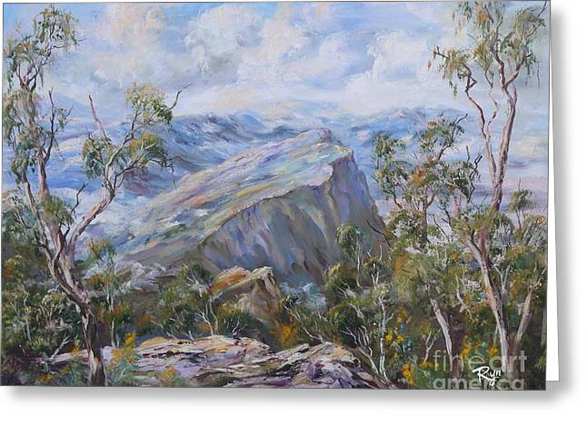 Mount Abrupt Grampians Victoria Greeting Card