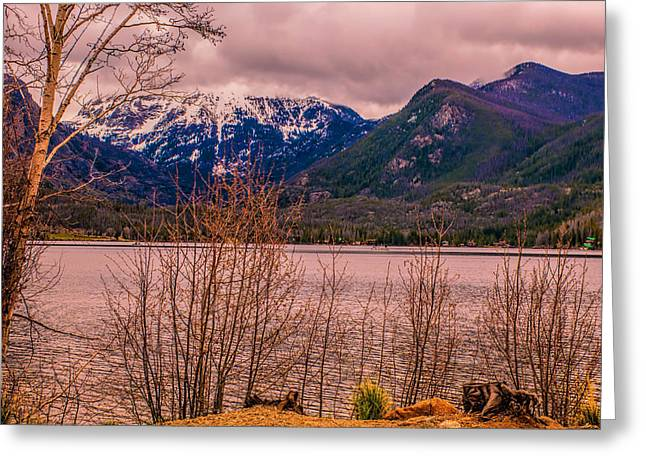 Mount Baldy From Point Park Greeting Card