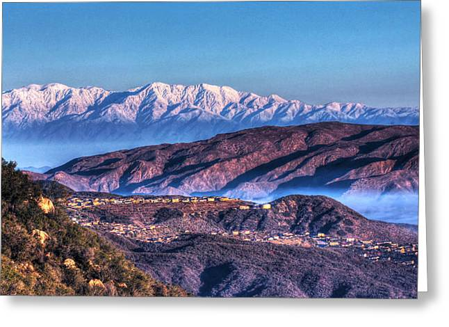 Mount Baldy Greeting Card