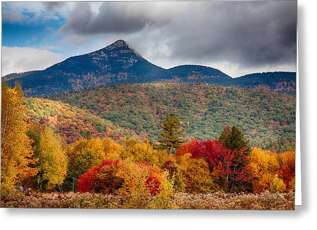 Peak Fall Colors On Mount Chocorua Greeting Card