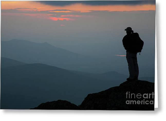 Mount Clay Sunset - White Mountains, New Hampshire Greeting Card