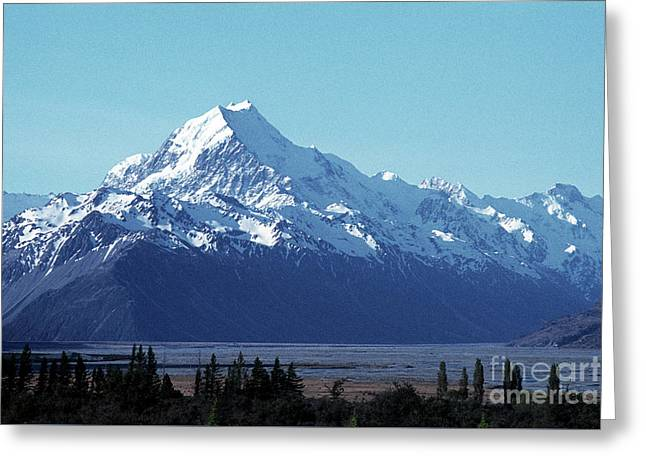 Mount Cook 02 Greeting Card by Rick Piper Photography