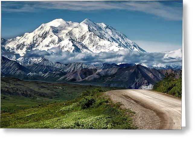 Mount Denali Greeting Card
