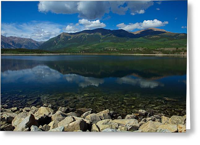 Mount Elbert Greeting Card by Tim Reaves