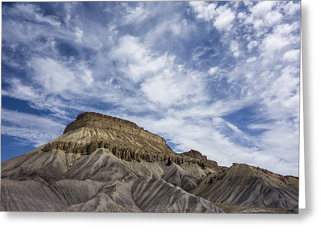 Mount Garfield Colorado Greeting Card