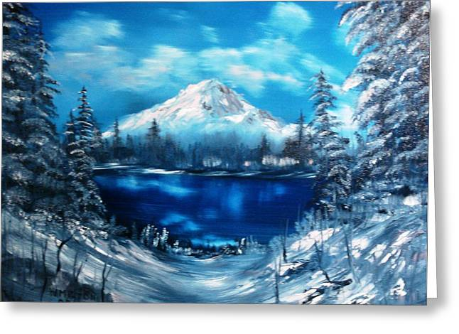 Mount Hood - Opus 2 Greeting Card
