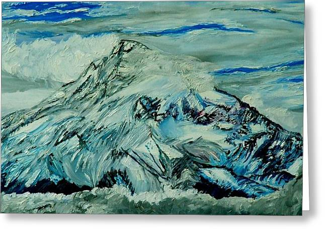 Mount Hood  Greeting Card by Gregory Allen Page