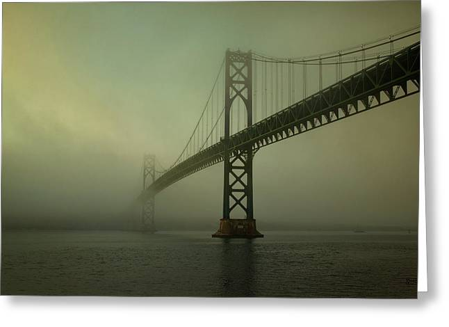Mount Hope Bridge Greeting Card