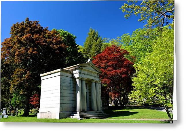 Mount Hope Cemetery 2 Greeting Card