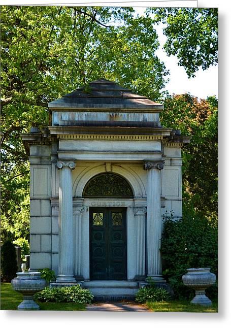 Mount Hope Mausoleum Greeting Card